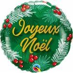 Qualatex BALLON MYLAR 18PO - JOYEUX NÖEL
