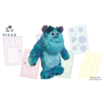 IMPORTS DRAGON PELUCHE DISNEY - SULLEY (MONSTER INC.)