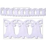 Beistle Co. GUIRLANDE CLOCHES BLANCHES 12PI