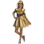 RUBIES COSTUME ENFANTS FILLE - STAR WARS - C-3PO