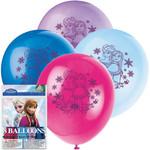 Unique SAC DE 8 BALLONS LATEX 12PO - LA REINE DES NEIGES