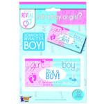 Forum Novelty *BILLET DE LOTO ''BOY'' - GIRL OR BOY