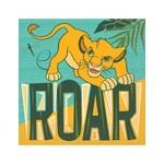 Unique SERVIETTES DE TABLE (16) - LE ROI LION