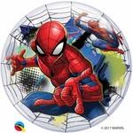 Qualatex BALLON BUBBLES - SPIDER-MAN