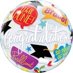 Qualatex BALLON BUBBLES - GRADUATION (ACCOLADES)