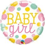 Qualatex BALLON MYLAR 18'' - BABY GIRL POIS