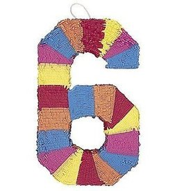 Unique STD PINATA NUMERAL #6