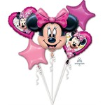 Anagram BOUQUET DE 5 BALLONS MYLAR - MINNIE MOUSE