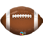 Qualatex BALLON MYLAR 18PO - FOOTBALL
