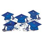 Amscan ENSEMBLE DE DÉCORATIONS POUR TABLE - GRADUATION (BLEU)