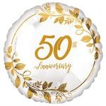 Anagram BALLON MYLAR 18PO - 50TH ANNIVERSARY