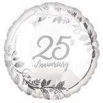 Anagram BALLON MYLAR 18PO - 25TH ANNIVERSARY