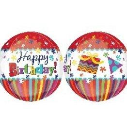 Anagram BALLON ORBZ HAPPY BIRTHDAY