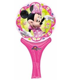 Anagram BALLON MYLAR BAGUETTE MINNIE MOUSE