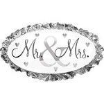 Anagram BALLON MYLAR SUPERSHAPE - MR & MRS