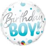 Qualatex BALLON MYLAR 18PO - BIRTHDAY BOY