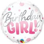 Qualatex BALLON MYLAR 18PO - BIRTHDAY GIRL