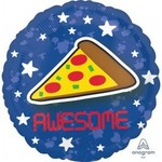 Anagram BALLON MYLAR 18PO - PIZZA AWESOME