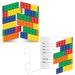 Creative Converting INVITATIONS FETE EN BLOCS (8)