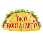Anagram BALLON MYLAR SUPERSHAPE - TACO BOUT A PARTY