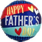 """Anagram BALLON MYLAR 18"""" - HAPPY FATHER'S DAY"""