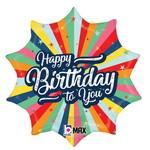 Betallic BALLON MYLAR 18PO - HAPPY BIRTHDAY TO YOU