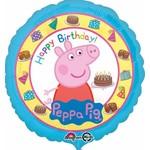 Anagram BALLON MYLAR 18PO - HAPPY BIRTHDAY PEPPA PIG