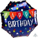 Anagram BALLON MYLAR MULTI BALLON - HAPPY BIRTHDAY