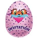 Unique INVITATIONS (8) - HATCHIMALS