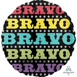 "Anagram BALLON MYLAR - 17"" BRAVO"