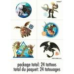 Unique TATOUAGES (4) - DRAGONS