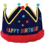 Amscan CHAPEAU DE FETE COURONNE - HAPPY BIRTHDAY