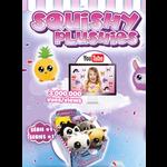 "Groupe Ricochet SQUISHY PLUSHIES 3.5"" SÉRIE # 1"
