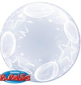 "Qualatex DECO BUBBLE BALLOONS & STARS 24"""