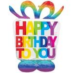 Anagram BALLON MYLAR AIRLOONZ - HAPPY BIRTHDAY TO YOU