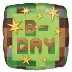 Anagram BALLON MYLAR 18PO - MINECRAFT B-DAY