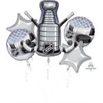 Anagram BOUQUET DE 5 BALLONS MYLAR - NHL