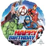 Anagram BALLON MYLAR 18PO - AVENGERS - HAPPY BIRTHDAY