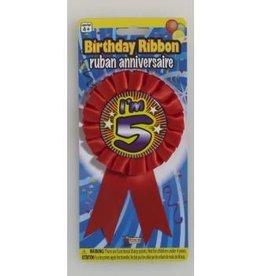 Forum Novelty AWARD RIBBON-I'M 5