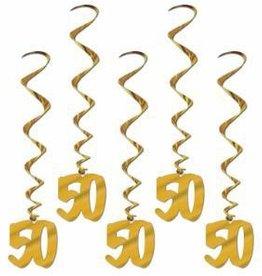 Beistle Co. 50th Anniversary Whirls