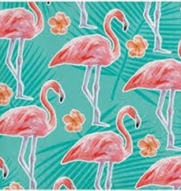 Creative Converting SERVIETTES COCKTAIL FLAMANTS ROSES (16)
