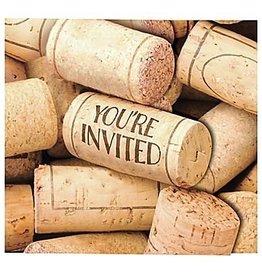 Creative Converting INVITATIONS BIÈRE & VIN (8)