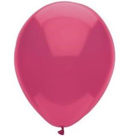 Party Mate SAC DE BALLONS LATEX 11' MAGENTA MAGIQUE SAC DE 15