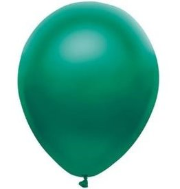 Party Mate SAC DE BALLONS LATEX 11' VERT FORÊT SATINÉ SAC DE 10