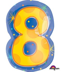 Anagram Ballon Mylar 18po #8