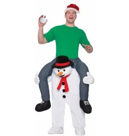 Forum Novelty COSTUME ADULTE ''À DOS DE BONHOMME DE NEIGE'' - STD