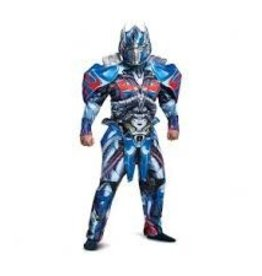 Disguise COSTUME ADULTE TRANSFORMERS DELUXE - OPTIMUS PRIME XL (42-46)