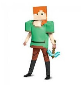 Disguise COSTUME FILLE MINECRAFT - ALEX DELUXE
