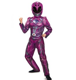 Disguise COSTUME ENFANT PINK POWER RANGER