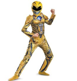 Disguise COSTUME ENFANT YELLOW POWER RANGER